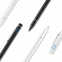 Bilgisayar ve Ofis'ten Dokunmatik Tablet Kalemleri'de Aktif iğneli kalem Kapasitif Dokunmatik Ekran Için Huawei MediaPad M5 8.4 10.8 10 Pro CMR AL09 W09 SHT W09 10.8 tablet kılıfı UCU 1.35mm