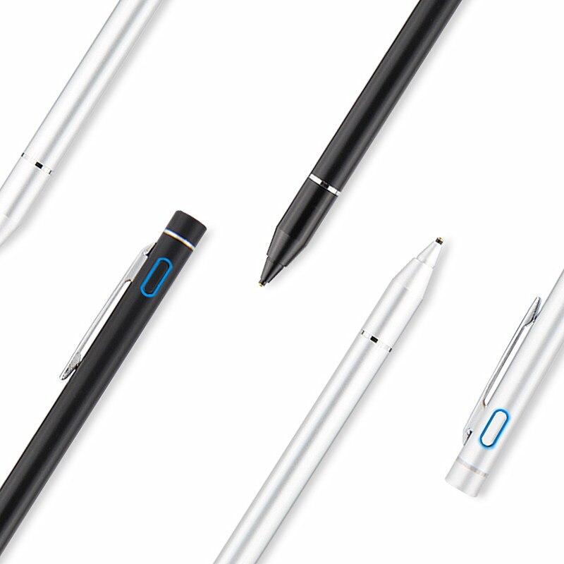 Ativo Caneta Stylus Capacitiva de Tela De Toque Para A Huawei MediaPad M5 8.4 10.8 10 Pro CMR-AL09 W09 SHT-W09 10.8 Caso Tablet NIB 1.35mm