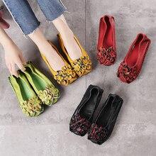 Г. женская обувь из натуральной кожи на плоской подошве, без шнуровки, обувь для вождения, Мокасины с острым носком, sapatilha espadrillas, большие размеры 586