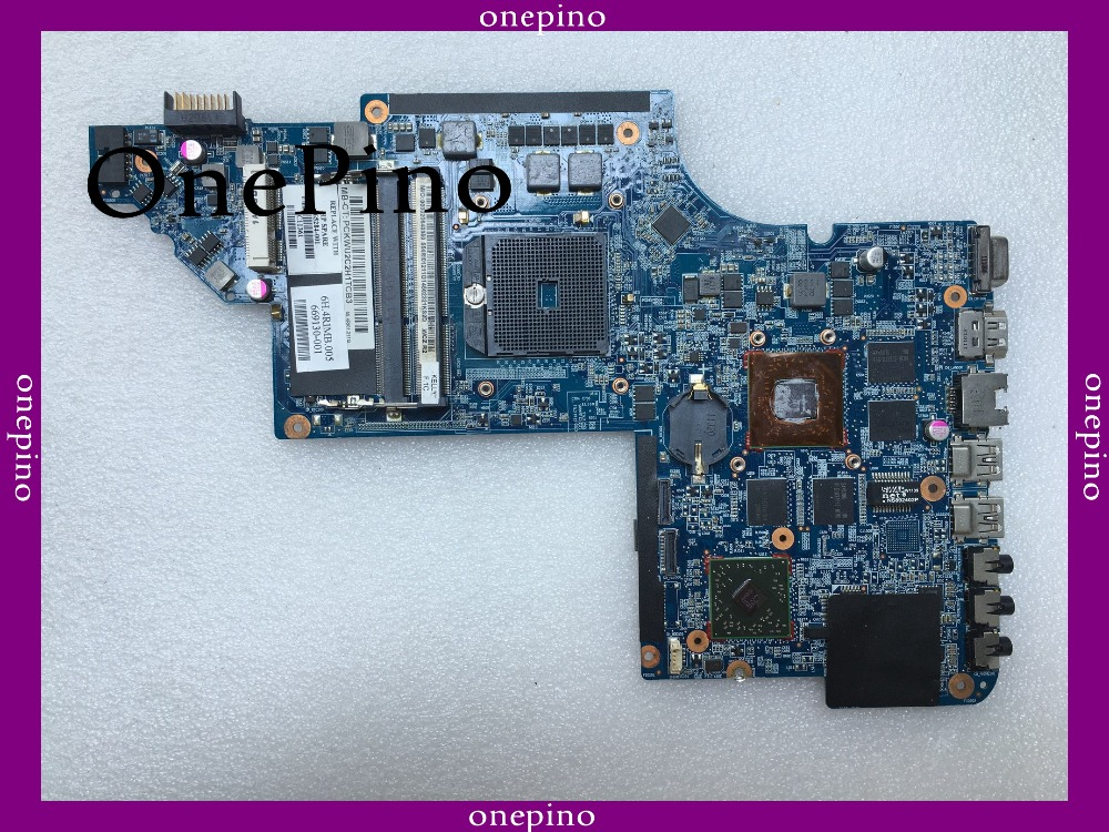 665284-001 For HP DV6-6000 665284-001 Laptop Motherboard,system Board