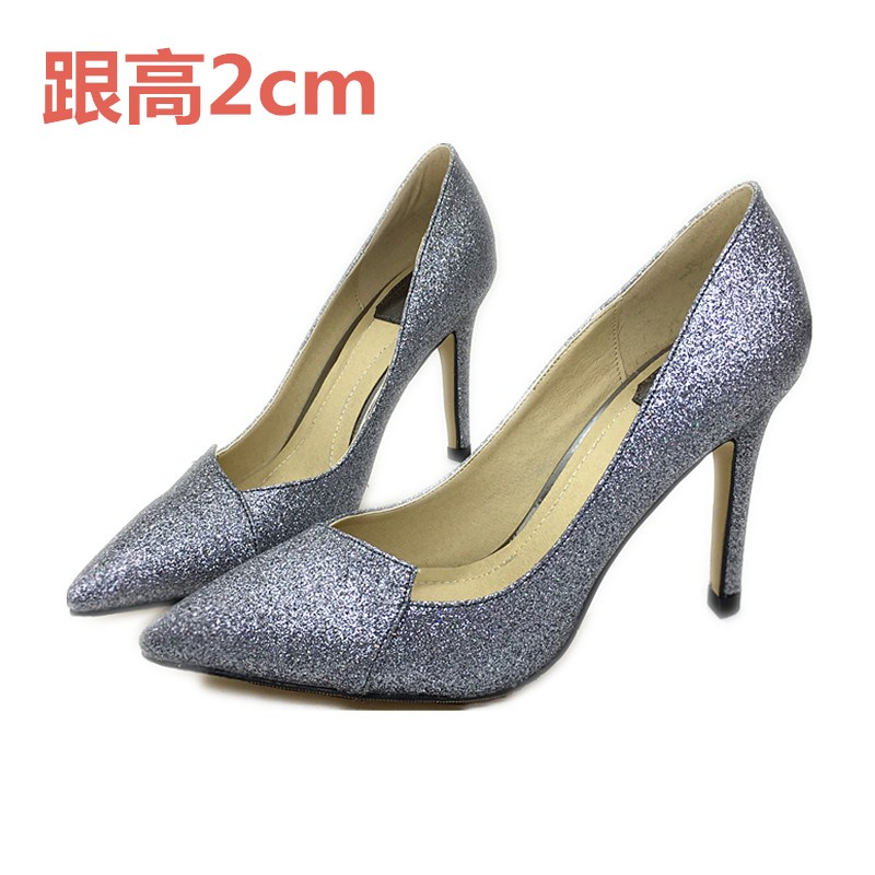 ФОТО 2017 spring high-heeled pointed toe small 31 32 33 single shoes women's shoes plus size 40 41 42 43 free shipping