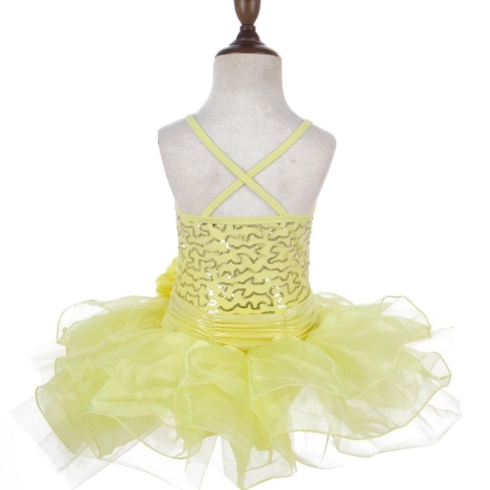 4f8d878e9c1f Kid Girls Ballet Dress Sequins Flower Dancewear Gyms Leotards ...