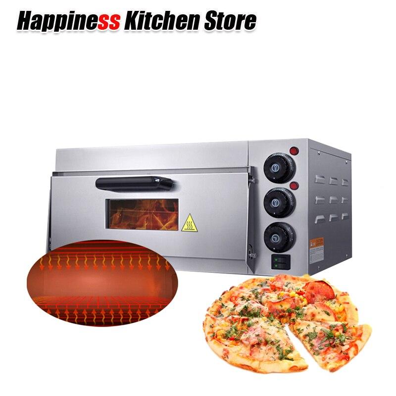 Один Слои для пиццы блин машина сковородке Кухня кухонная утварь Электрический коммерческих пиццы инструменты Кухня аксессуары