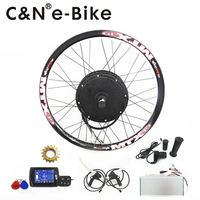 High Power 72v 5000w Electric Bike Kit 5kw Ebike Conversion Kit With TFT Display