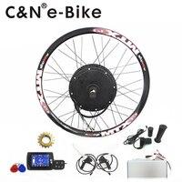 High Power 72v 5000w Electric Bike Kit 5kw Ebike Conversion Kit With TFT Display