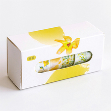 5 Pcs/Box Beautiful Flower washi tape DIY decoration scrapbooking planner masking tape adhesive tape label sticker stationery(China)