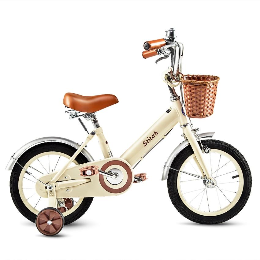 12/14/16/18 Inch Pink Kids Children Bike Forest Princess Kids Bicycles Girls Bike Foot Break BSCI Verified Factory Free Shipping