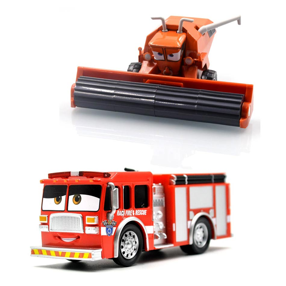 11 Styles Disney Pixar Cars 3 Frank Tiny Lugsworth Mack Truck McQueen Uncle Metal Diecast Toy Car Loose Brand Toys For Children