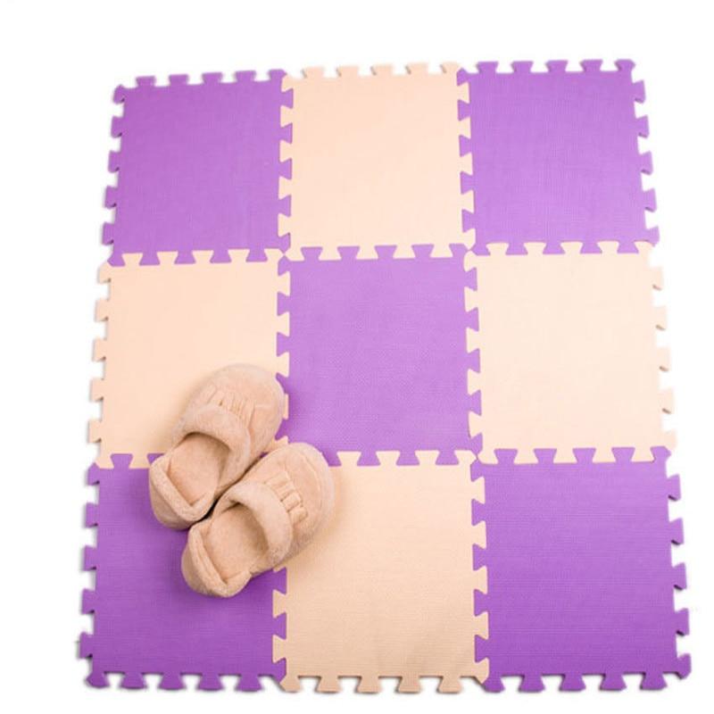 Meitoku baby EVA Foam Interlocking Exercise Gym Floor play mats rug Protective Tile Flooring carpets 32X32cm Meitoku baby EVA Foam Interlocking Exercise Gym Floor play mats rug Protective Tile Flooring carpets 32X32cm 9 or 10pcs/lot,