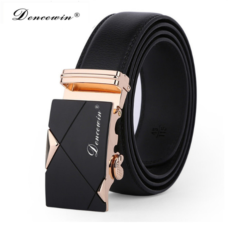 brand popular male brand belts male luxury black blets genuine split