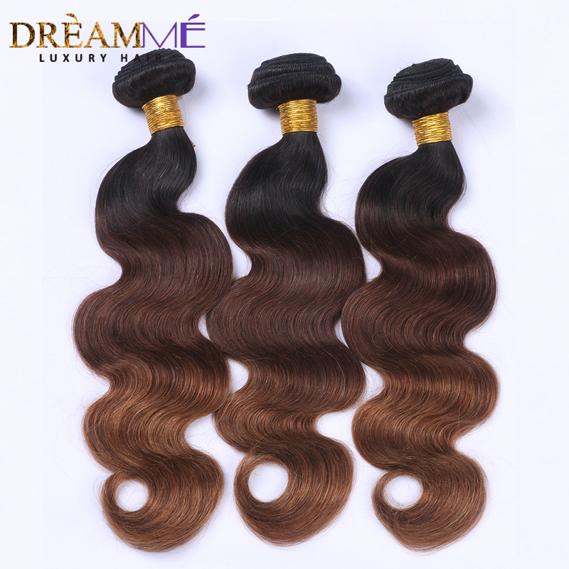 #T1B 4 30 body wave human hair extension 3 (1)