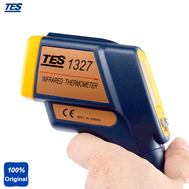 TES1327 Digital Infrared Industrial Thermometer -35 ~ 500 degree tes ro 18 14 ts 323 35