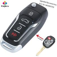 KEYECU Replacement Upgraded Flip Remote Car Key 314MHz G Chip FOB for Toyota Yaris Scion tC iQ 2014 2015 2016 FCC ID: MOZB52TH