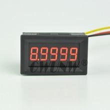 GWUNW постоянного тока цифровой вольтметр BY536V 9,9999(10 В) 5 бит высокая точность Тестер Напряжения Метр