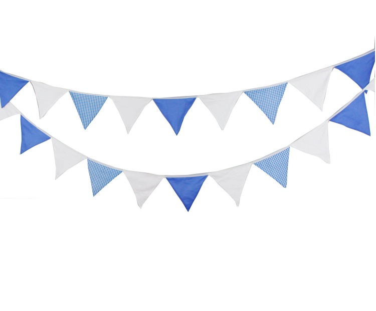 Compare Prices on Triangle Flag Banner Blue- Online Shopping/Buy ...