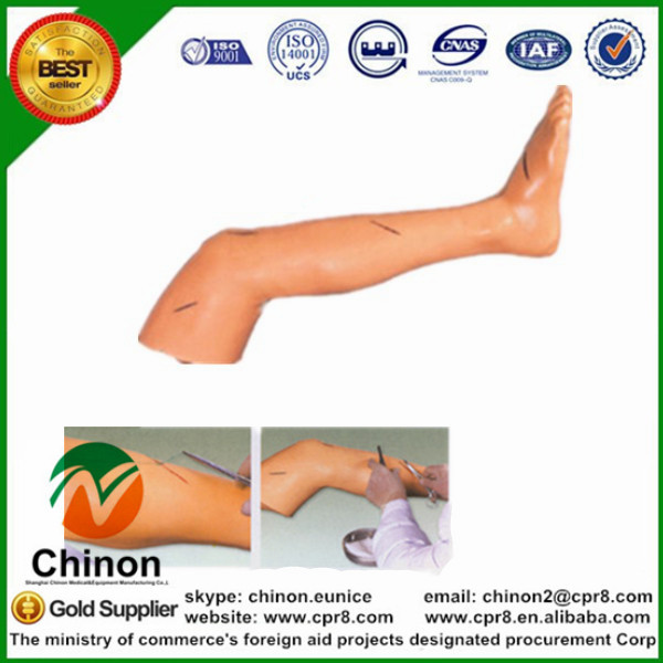 BIX-LF2 Senior Surgical Suture Training Leg Model G106 bix lv10 medical education training