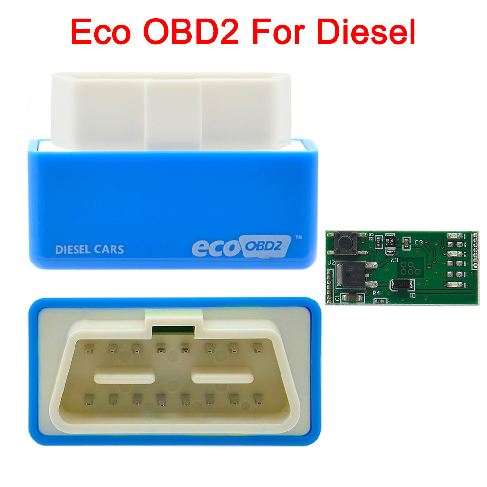 US $1 78 15% OFF|NitroOBD2 Full Chip Tuning BoxGreen EcoOBD2 Economy Chip  Tuning Box OBD Car Fuel Saver Eco OBD2 for Benzine Cars Fuel Saving 15% on