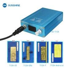 SONNENSCHEIN SS-T12A Löten Station Kit Motherboard Reparatur Werkzeug für iPhone 6 7 8 X XS Handy CPU NAND Heizung reparatur