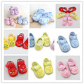 Love Infant Baby Girls Crib Shoes Soft Sole Anti-slip Toddler Shoes 0-12 Months NEW SM67
