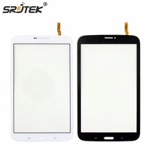 "Srjtek 8"" Screen Parts For Samsung Galaxy Tab 3 8.0 T311 SM-T311 Touch Screen Digitizer Sensor Tablet PC Replacement Black White"