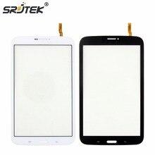 """Srjtek 8 """"Partes de la pantalla Para Samsung Galaxy Tab 3 8.0 T311 SM-T311 Tablet PC de Pantalla Táctil Digitalizador Del Sensor de Reemplazo Negro Blanco"""