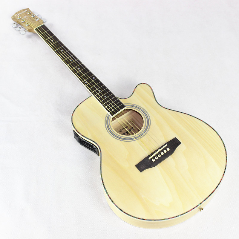 40 12 40 inch high quality electric acoustic guitar rosewood fingerboard guitarra with guitar. Black Bedroom Furniture Sets. Home Design Ideas