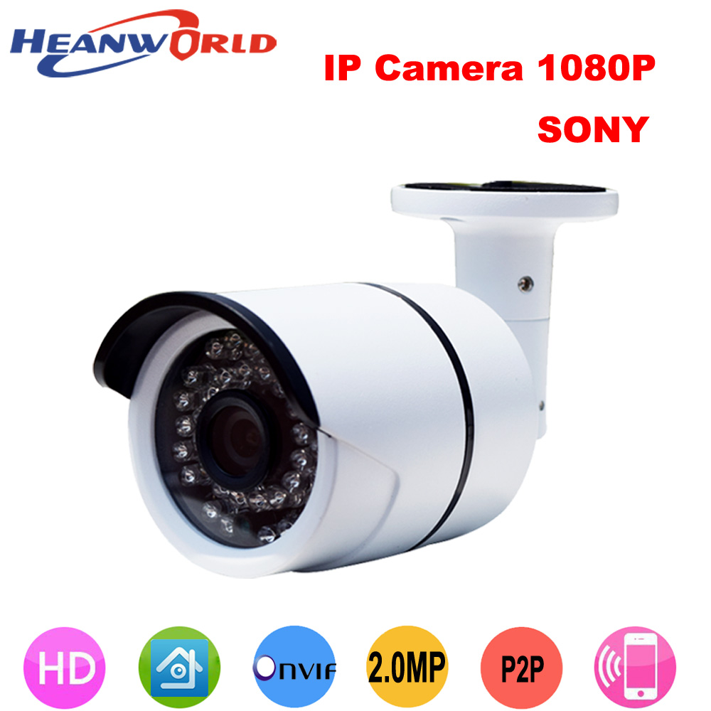 Video Surveillance Security & Protection Faithful Heanworld Sony Hd Ip Camera 1080p Outdoor & Indoor Waterproof Camera With Great Night Vision Cctv Security Camera