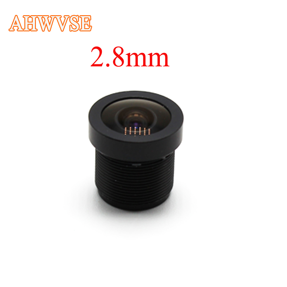 CCTV <font><b>Lens</b></font> 1080P 130 degreee 1/2.5'' <font><b>2.8mm</b></font> For HD Full HD CCTV Camera IP Camera M12*0.5 MTV Mount image