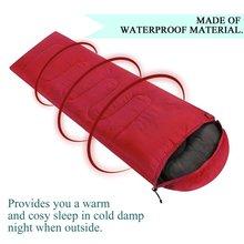 Открытый кемпинг спальный мешок теплый конверт с капюшоном зимние спальные мешки для взрослых Дорожная сумка для сна
