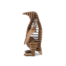 3d Puzzle Penguin Model Paper Craft Kids DIY Cardboard Animal Papercraft Art Educational Toys Puzzles Games Cute Children Gift