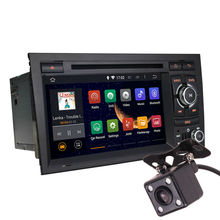 Android 5.1 7 Inch Car Dash DVD Player GPS Navi 3G WIFI Quad Core / DVR / OBD / 1024×600 / Head Unit  for AUDI A4 02-07