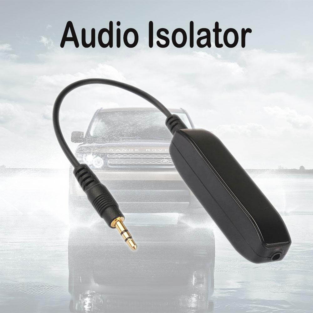 3.5 mm AUX Səs Səs Səs Filtri Audio Anti-Jammer Torpaq Döngəsi - Avtomobil elektronikası - Fotoqrafiya 2