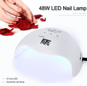 Image 5 - Светодиодная УФ лампа для ногтей LKE, 54 Вт, Сушилка для ногтей, УФ Гель лак для ногтей с кнопкой 30 с/60 с, таймер, 36 светодиодный, двойная лампа для маникюра и дизайна ногтей