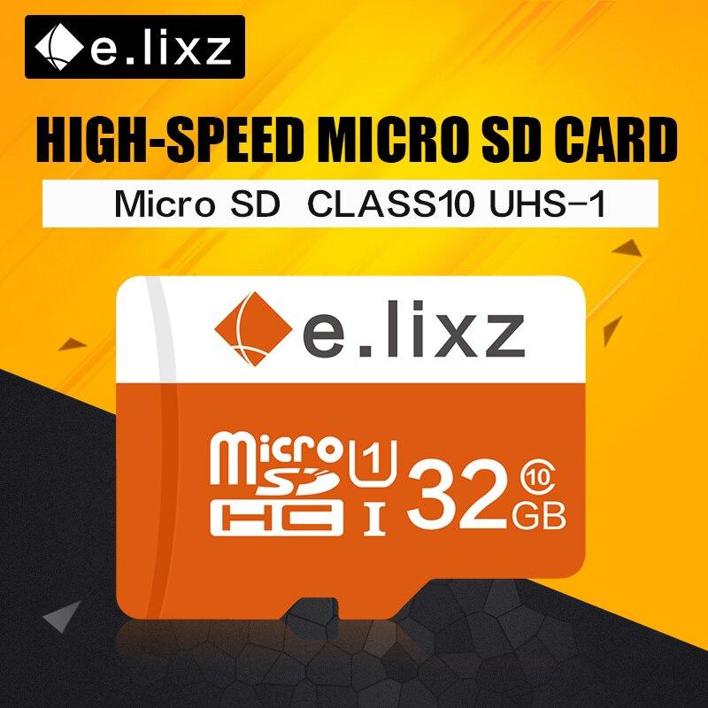 E. lixz 10 PCS/lot Prix de Gros 100% de la Capacité Réelle Tf/Micro Carte SD 8 GB 16 GB 32 GB 64 GB Classe 10 Mémoire Microsd Carte