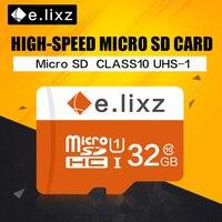 E. lixz 10 Teile/los Großhandelspreis 100% Reale Kapazität Tf-karte/Micro Sd-karte 8 GB 16 GB 32 GB 64 GB Class 10 Speicherkarte Microsd Karte