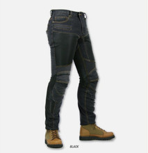 KOMINE pk719 jeans half contact gear mesh summer racing motorcycle jeans cowboy riding pants