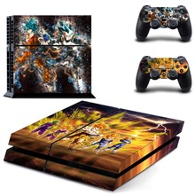 Anime Dragon Ball Naruto One Piece PS4 Skin Sticker Decal Vinyl for Playstation 4 Console and 2 Controllers PS4 Skin Sticker