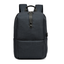 цены Men Backpack New Fashion Polyester Solid Backpacks for Teenage, Boy, Male Large Capacity School Bags Casual Travel Back Pack Bag