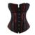 Entrenador cintura corsé caliente shapers bustiers de cintura de corsé Lencería Sexy corsé steampunk ropa gótica corselet