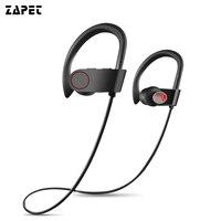 Bas Bluetooth Kulaklık Kablosuz IPX7 Su Geçirmez Kulaklık Spor Koşu iphone xiaomi için Mic Ile Kulaklık samrtphone