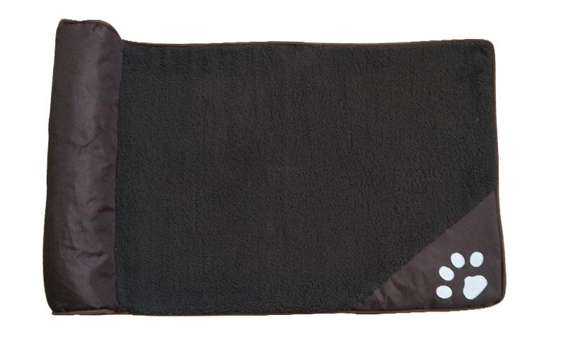 fine joy Pt Dog Bed Blue Brown Dog House Sofa Kennel Square Pillow For Large Dogs