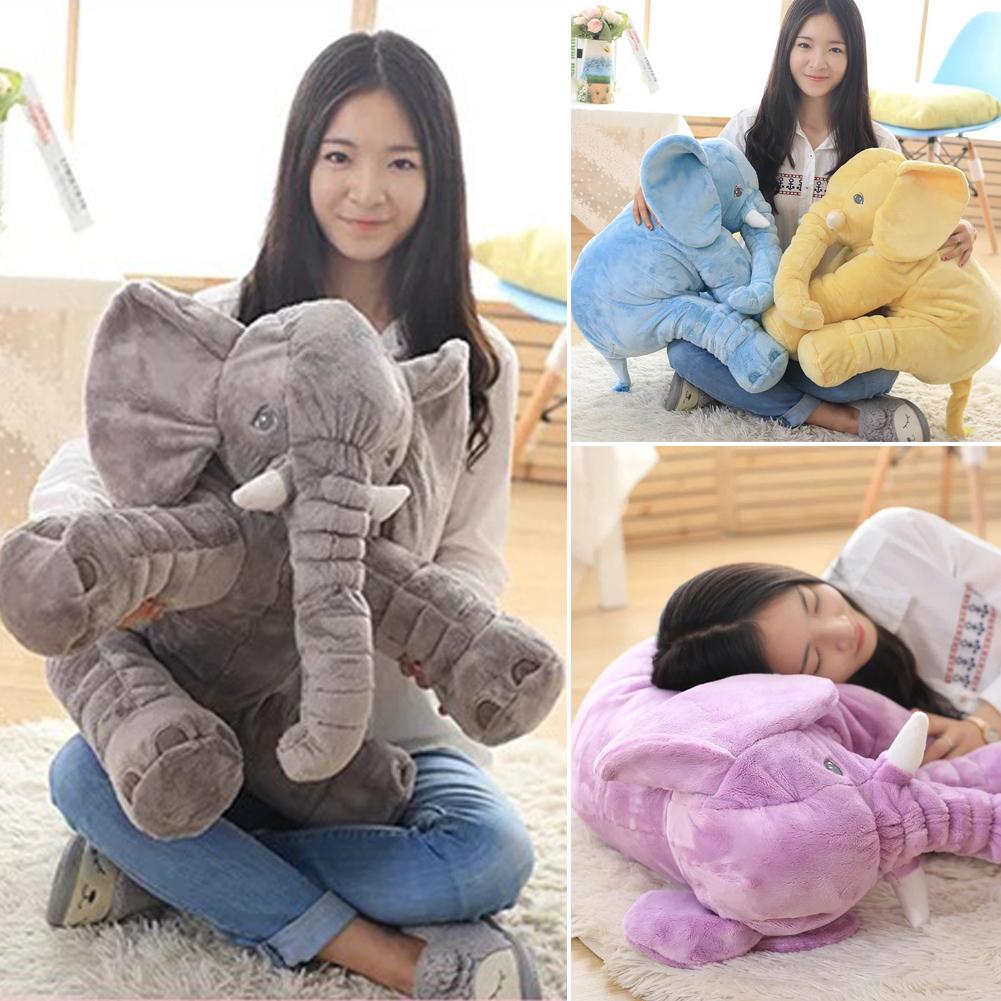 almohada cojn para nios sala de decoracin ropa de cama de juguete nios juguetes del elefante