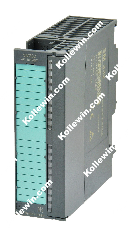 FreeShip OEM 6ES7332 5HD01 0AB0, SIMATIC S7 300 Analoge Uitgang SM 332 4 AO x 12 Bits, 6ES7 332 5HD01 0AB0, NIEUWE 6ES73325HD010AB0