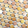Shipping Free 12x12 Orange Ceramic Mosaic Kitchen Backsplash Tiles HME7031 11 Sq Ft Lot