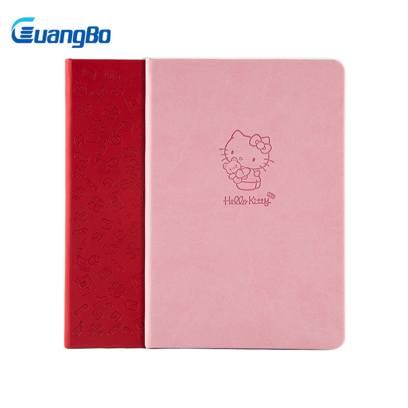 GUANGBO Diary Notebook Monthly Planner Notepad Cuadernos Agenda Planner Organizer Quaderno Filofax 96 Sheets For School Office 2018 cute unicorn notebook journals calendar diary week monthly planner note book agenda filofax school chancery tool a5 a6