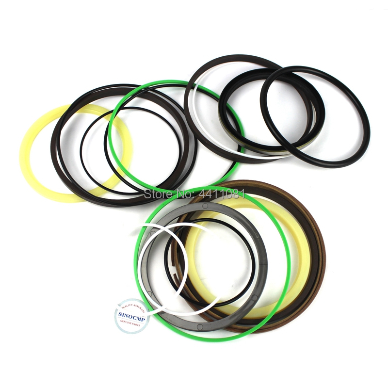 For Komatsu PC120LC-6E PC130-7 Arm Cylinder Repair Seal Kit 707-99-44340 Excavator Gasket, 3 months warranty for komatsu pc130 6k arm cylinder repair seal kit excavator gasket 3 months warranty