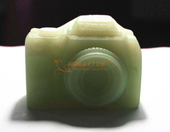 Molde de jabón de silicona de la cámara molde de vela Moldes DIY - Artes, artesanía y costura