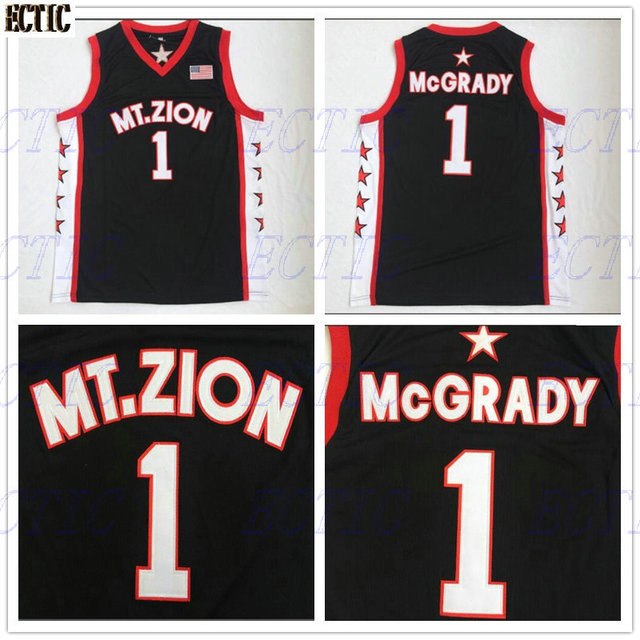 f349a5fe7 2018 ECTIC new arrived Throwback Basketball Jersey Tracy McGrady 1 T-MAC  Mount Zion shirts jerseys wholesale price 100% Stitched