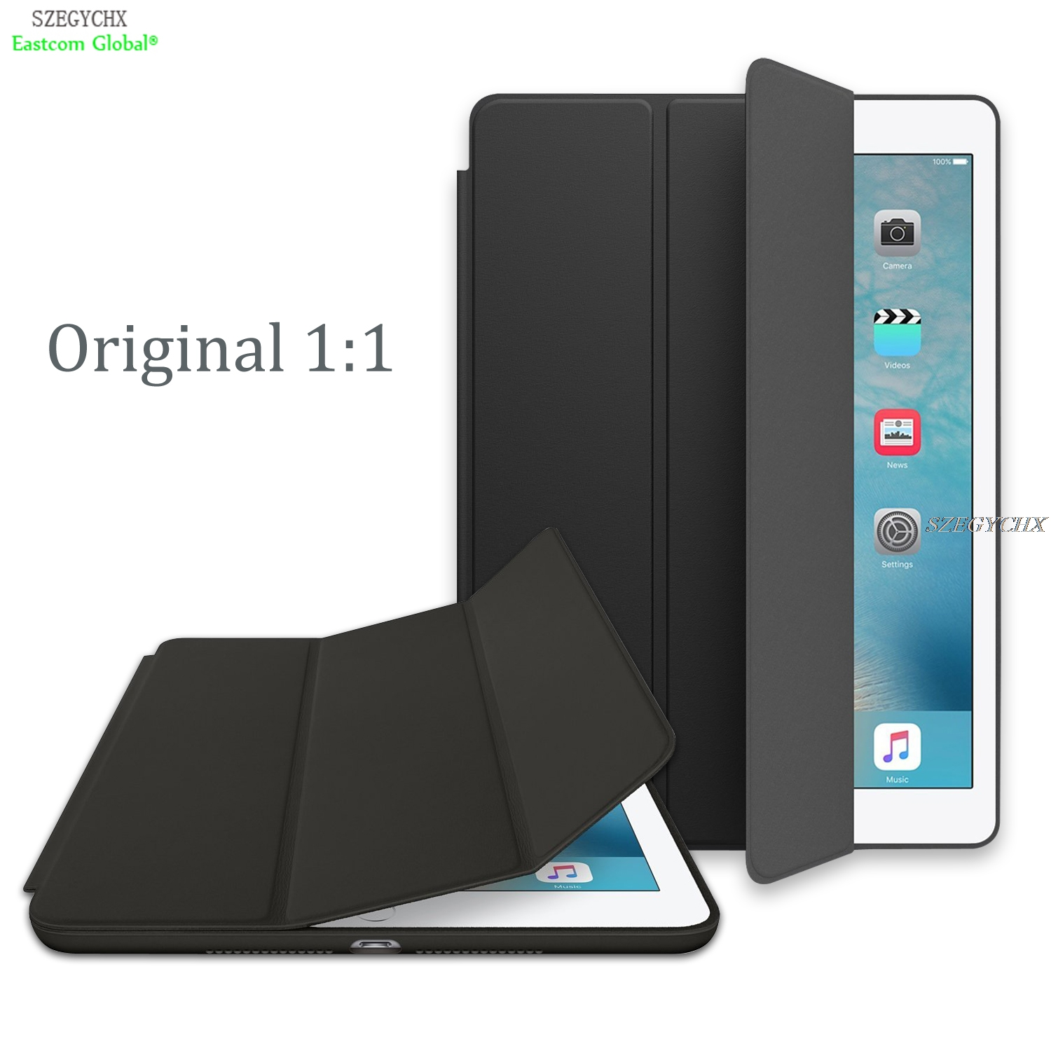 Case For apple iPad Mini 4 , SZEGYCHX Original 1:1 Ultra Slim Smart Cover Stand For ipad case Auto Wake / Sleep with LOGO цена