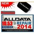 ALLDATA 10.53 + 166 gb Mit 2015 + med & caminhão pesado conjunto Completo de Reparação de software com 1 TB HDD 3.0USB